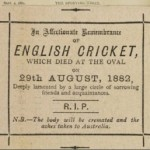 The Sporting Times 02/09/1882 (The Ashes)